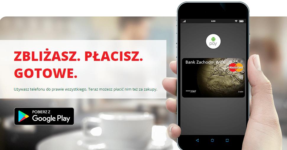 Bz Wbk Skorzystaj Z Android Pay I Odbierz 30 Zl Do Wykorzystania W