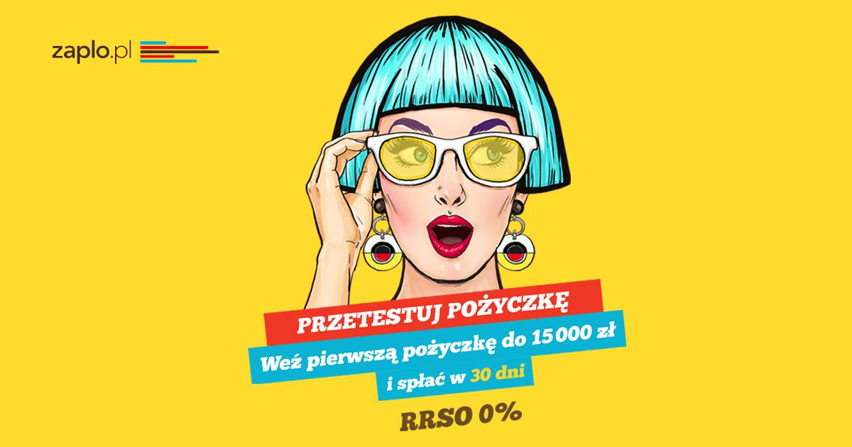 Zaawansowane Zaplo.pl, czyli przetestuj pożyczkę na rekordową kwotę do 15.000 WB75